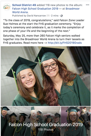 View the D49 FHS Graduation 2019 album on Facebook