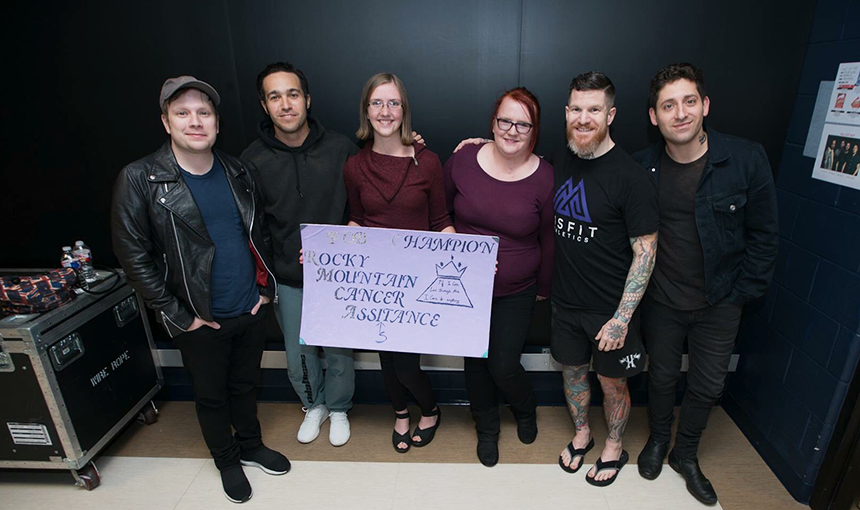 Kristal Willis with FOB band