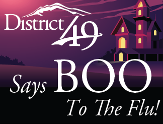 District 49 Says BOO to the Flu