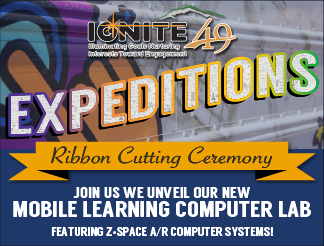 Ignite Expeditions Mobile Computer Lab Ribbon Cutting