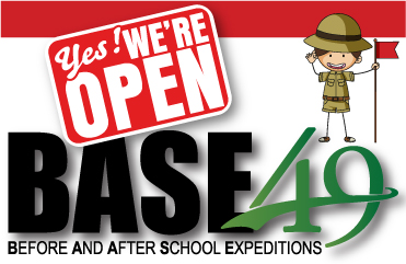 BASE49 We're Open Graphic