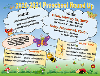 D49 Preschool Round Up Coming Soon!