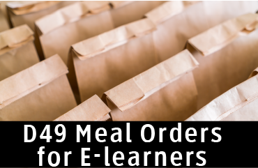 Graphic for e learners meal ordering