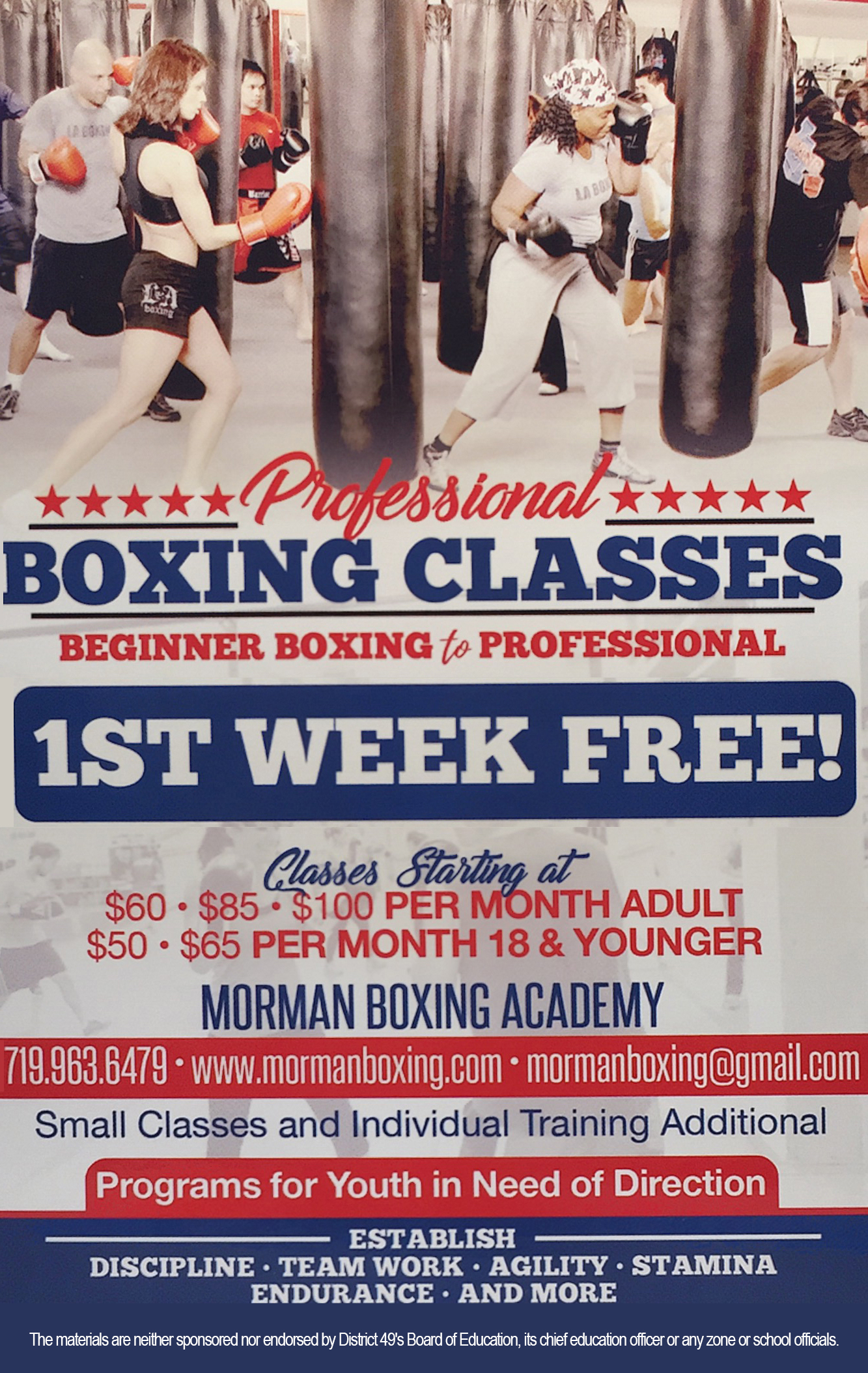 Morman Boxing