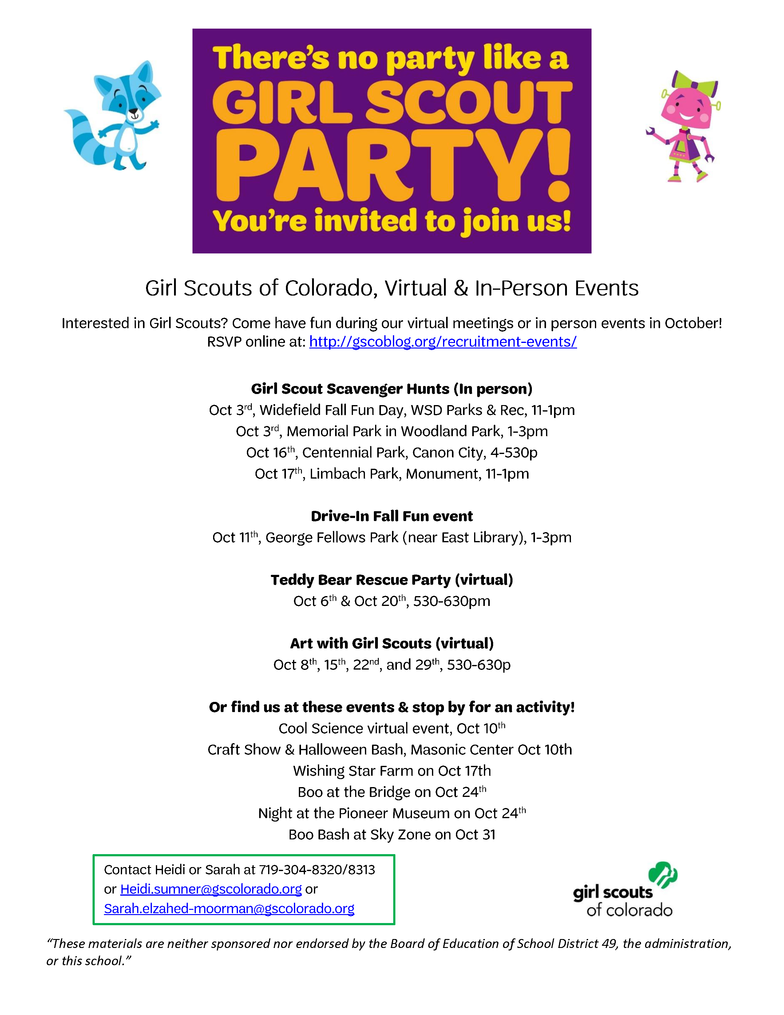 Girl Scouts of Colorado