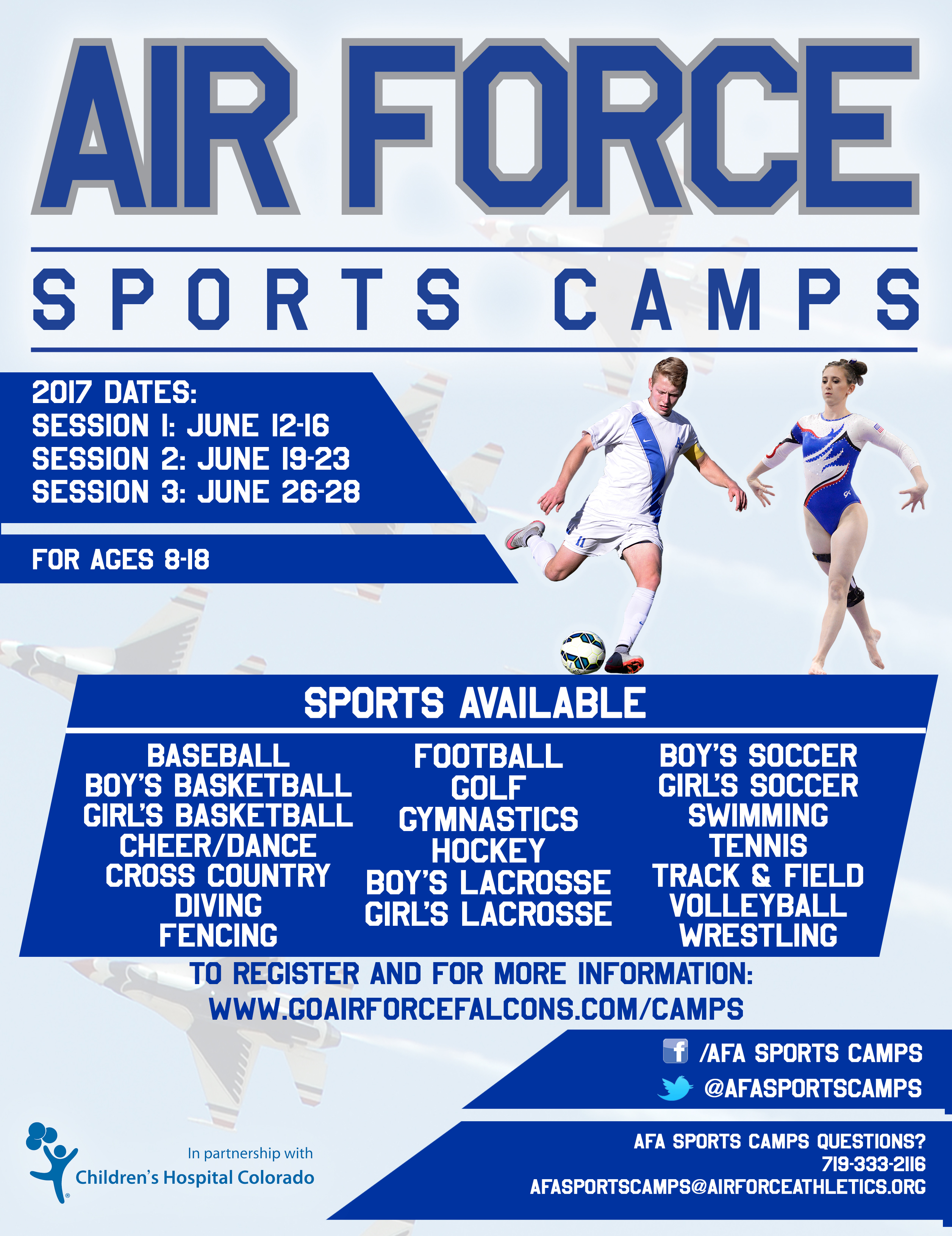 Air Force Sports Camps