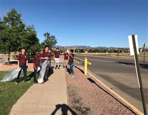 Sand Creek Clean-up Fall