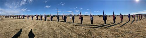 SCHS AFJROTC at Pike's Peak National Cemetery