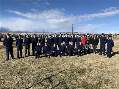AFJROTC at Pike's Peak National Cemetery