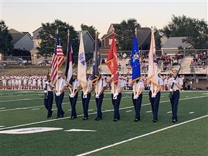 Homecoming Military Appreciation Color Guard