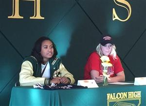 Letters of intent signed at Falcon High School