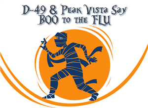 Boo to the Flu Flier