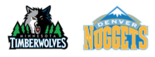 Timberwolves vs Nuggets