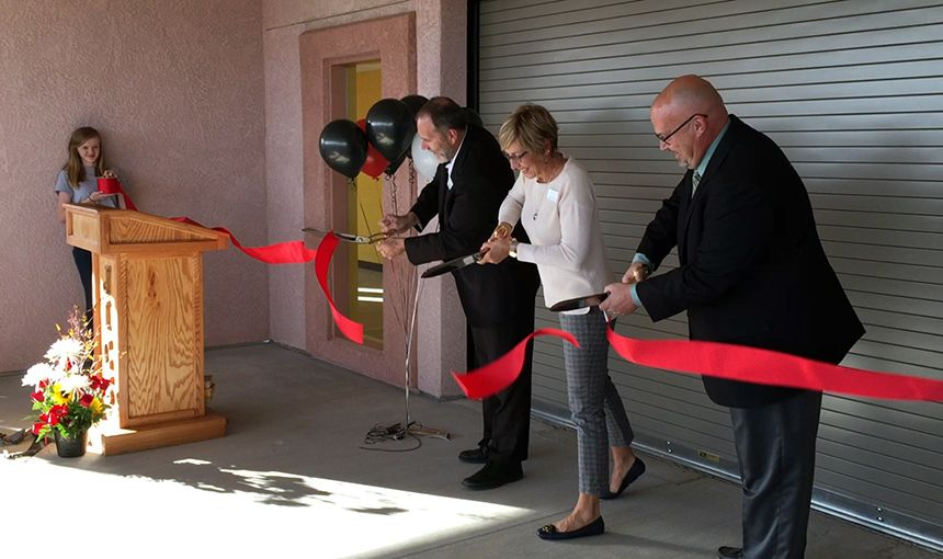 Ribbon cutting officially opens Power Technical Early College Oct. 19.