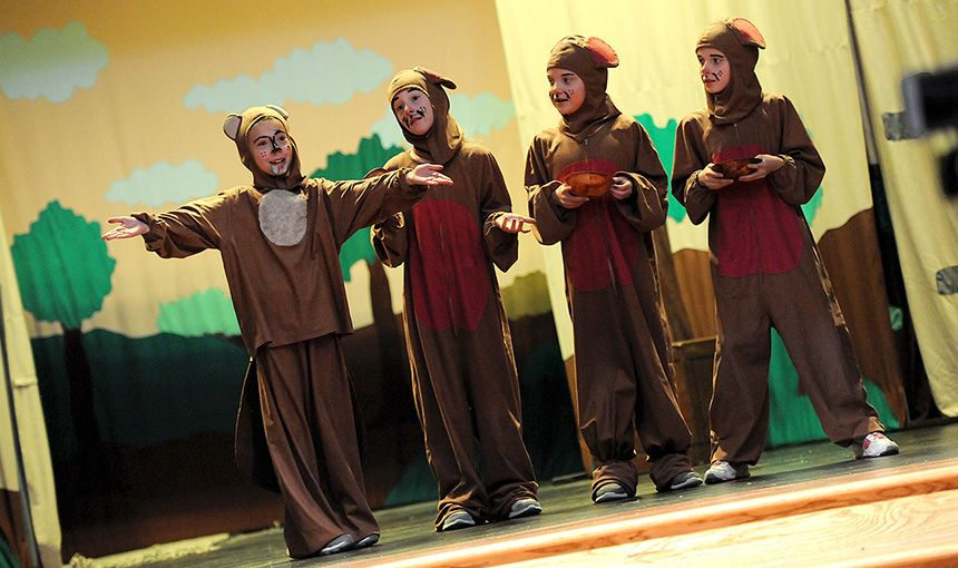 Rocky Mountain Classical Academy students starred in a Missoula Children's Theatre production.
