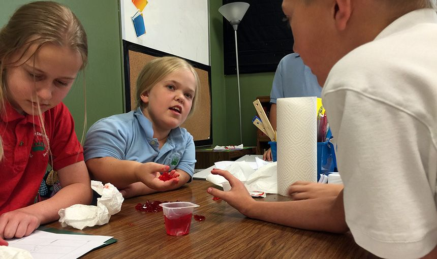 PPSEL Students Explore Matter, Make Connections