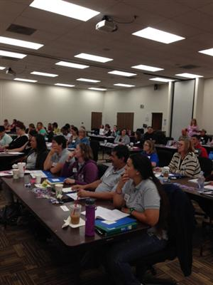 PTA fall training attendees